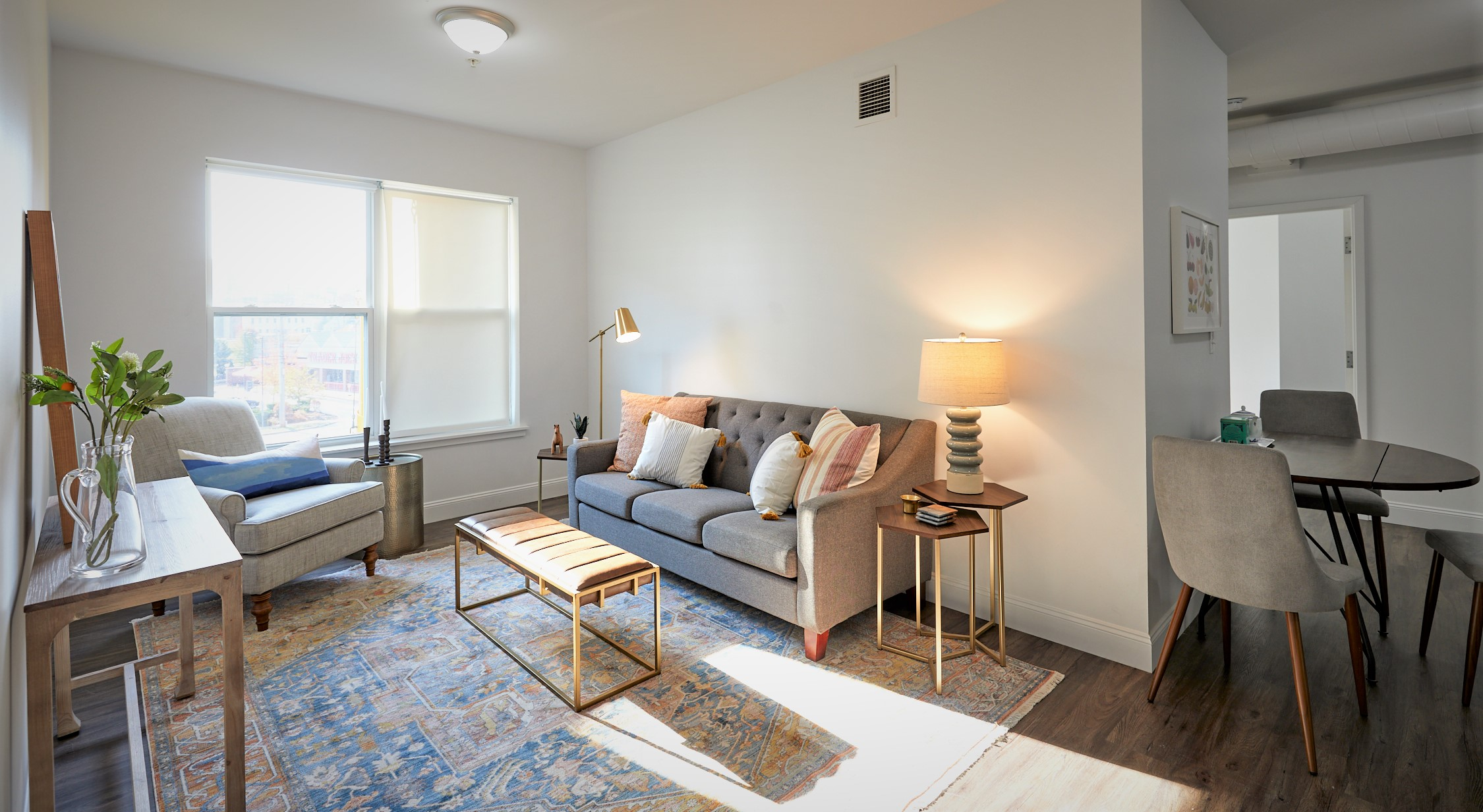 The Linden – Apartment 101  **Space to Live & Work! 2 Bath! City Views!**