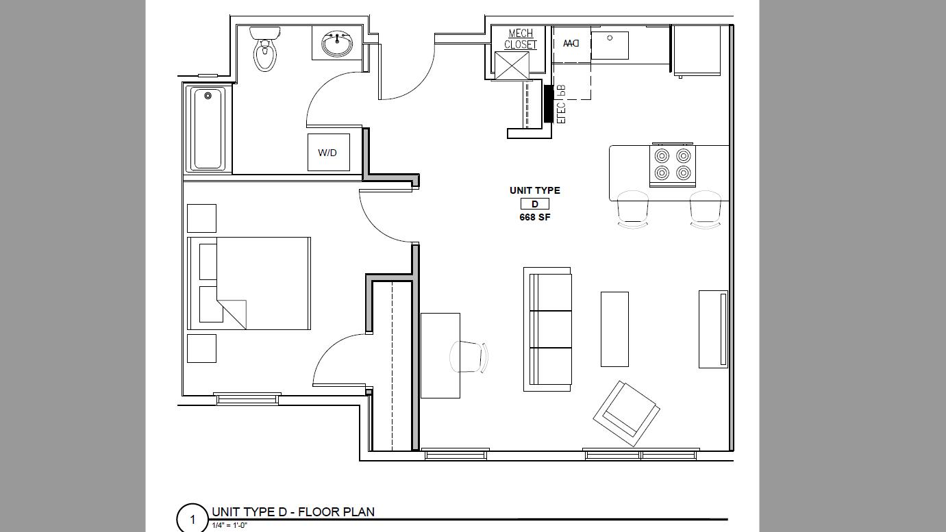 132 Marginal Way – Apartment 237  **$750 Concession!**