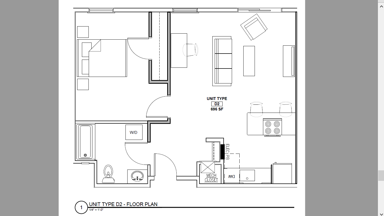 132 Marginal Way -The Linden- Apartment 248  **Free October Rent!**