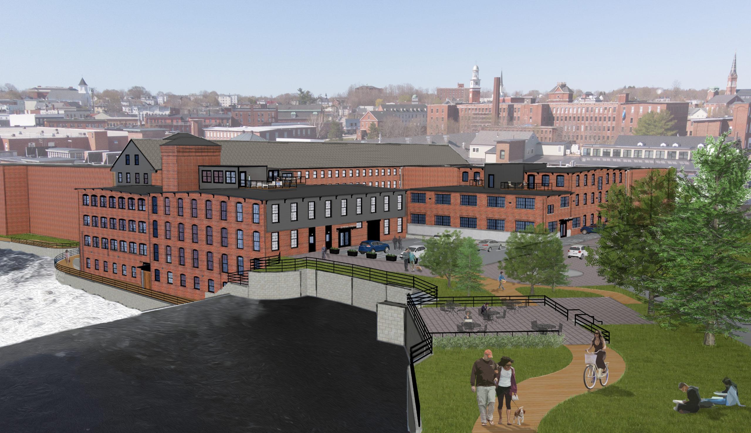 Riverdam Unit #206 Featuring courtyard views & nook!