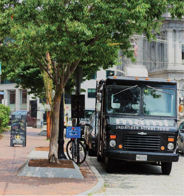Food truck in Portland